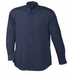 J&N Promotion hosszú ujjú férfi ing, szürke 3XL