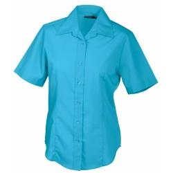 J&N Promotion rövid ujjú női blúz, kék XL