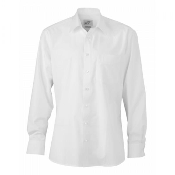Kockás férfi ing hosszú ujjal sötétkék színben Bolf 5094
