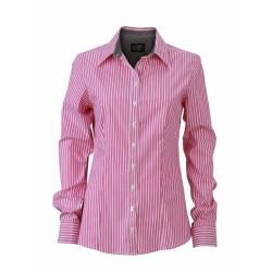 J&N Ladies' Shirt, szürke L