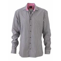 J&N Men's Shirt, lila XXL