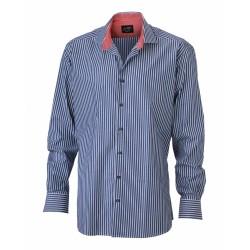 J&N Men's Shirt, piros L