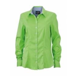 J&N Ladies' Shirt női blúz, zöld S