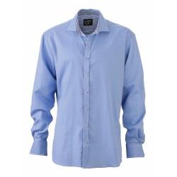 J&N Men's Shirt, kék 3XL