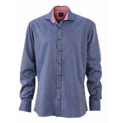 J&N Men's Shirt, kék 3XL