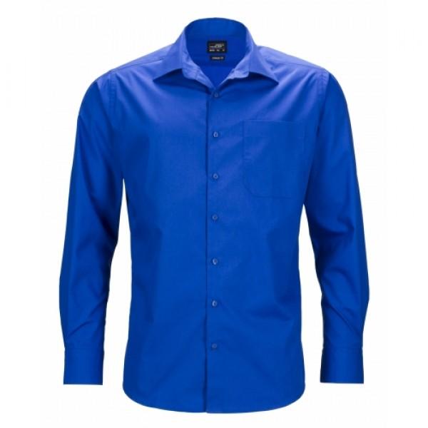 ed425c7773 J&N Business hosszú ujjú férfi ing, kék S - Poloemblémázás.hu
