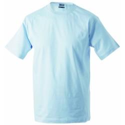 J&N Workwear-T kereknyakú póló, kék S
