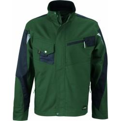 J&N Workwear dzseki, zöld XL