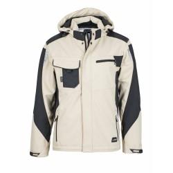 J&N Craftsmen softshell dzseki, szürke 3XL