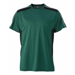 J&N Craftsmen T-Shirt, zöld XXL