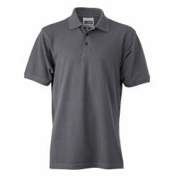 J&N Men's Workwear galléros póló, szürke 3XL