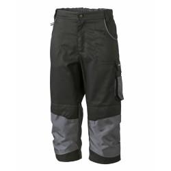 J&N Workwear 3/4-es nadrág, fekete 56