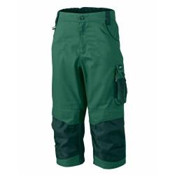 J&N Workwear 3/4-es nadrág, zöld 52