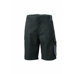 J&N Workwear bermuda nadrág, fekete 58