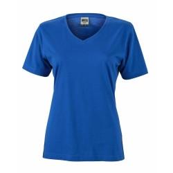 J&N Ladies' Workwear-T női munkapóló, kék L