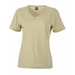 J&N Ladies' Workwear-T női munkapóló, szürke M