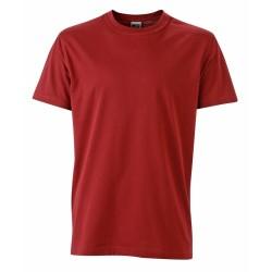 J&N Men's Workwear-T kereknyakú póló, natúr XL
