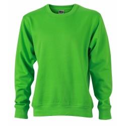 J&N Workwear pulóver, zöld 3XL