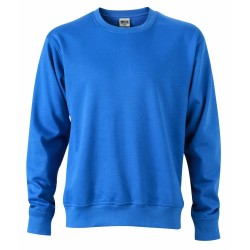 J&N Workwear pulóver, kék 4XL