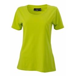 J&N Ladies' Basic-T női póló, sárga 3XL