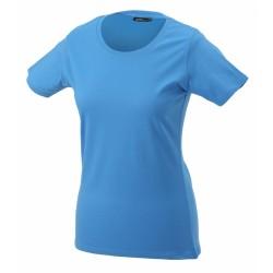 J&N Ladies' Basic-T női póló, kék XXL