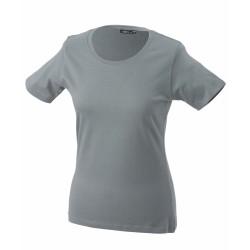J&N Ladies' Basic-T női póló, szürke XXL