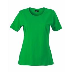 J&N Ladies' Basic-T női póló, zöld XXL