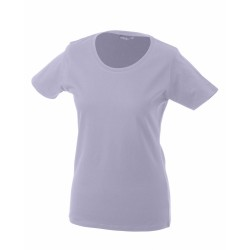 J&N Ladies' Basic-T női póló, lila L
