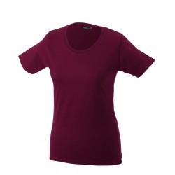 J&N Ladies' Basic-T női póló, natúr S