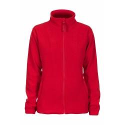 ALASKA WOMEN mikropolár pulóver, piros M